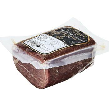 Eldsberga Charks utsökta vakuumförpackad kallrökta nötkött